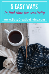 Find time for creativity with The Busy Creative