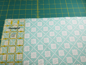 Fat quarter measured to 18 inches. Napkin DIY
