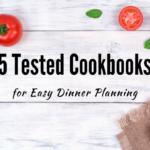 5 Cookbooks for easy dinner planning
