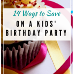 Cupcake. Ways to save on kids parties at The Busy Creative