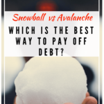 Debt Snowball vs Avalanche Comparison. The Busy Creative