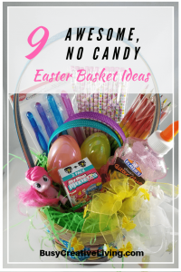 No candy Easter basket ideas