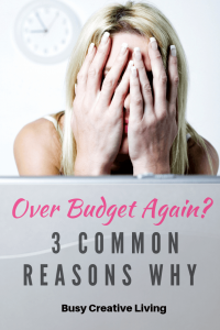 Over Budget Stressed Woman